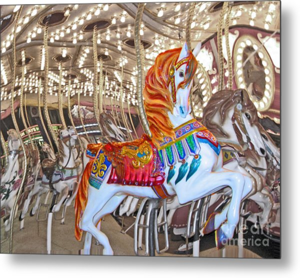 Find Your Ride Metal Print