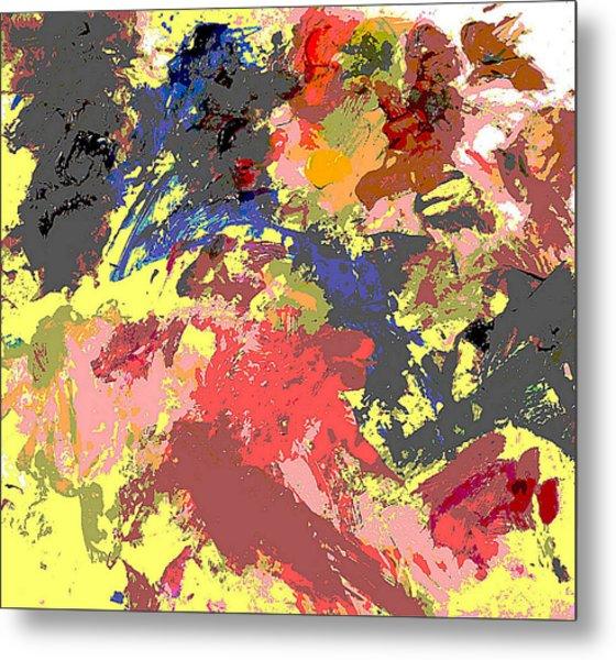 Fine Art Digital Palette 0848b Metal Print