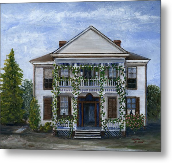 Finn Hotel Pleasant Hill Louisiana Metal Print