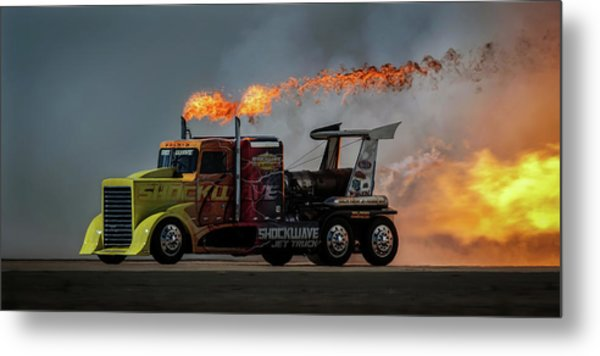 Fire & Speed - Mcas Miramar Air Show Metal Print by David H Yang