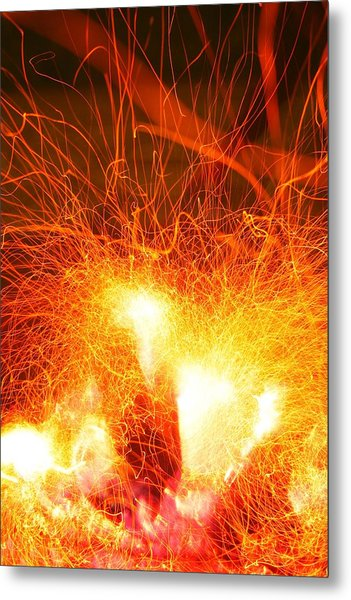 Fire-1 Metal Print