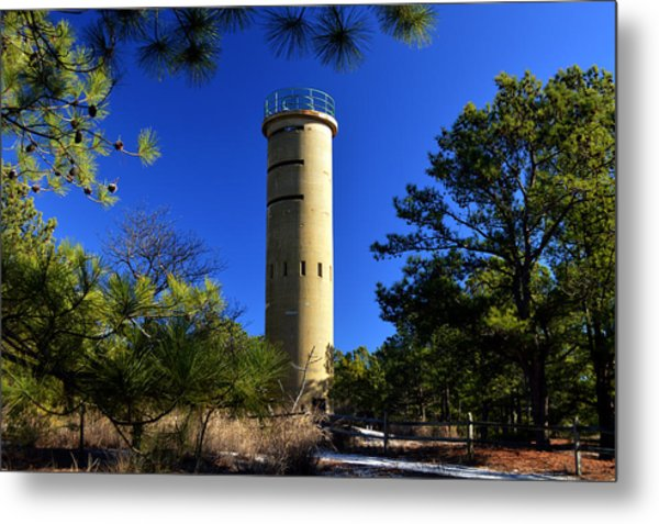 Fct7 Fire Control Tower #7 - Observation Tower Metal Print