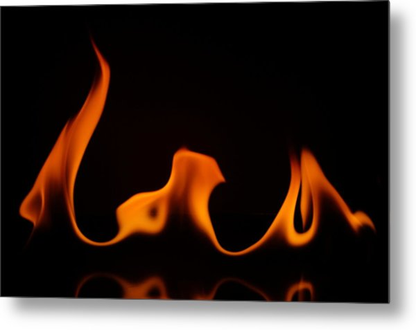 Fire Dance Metal Print