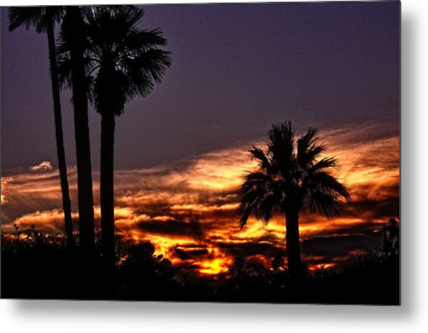 Fire Haven Metal Print by Marquis Crumpton