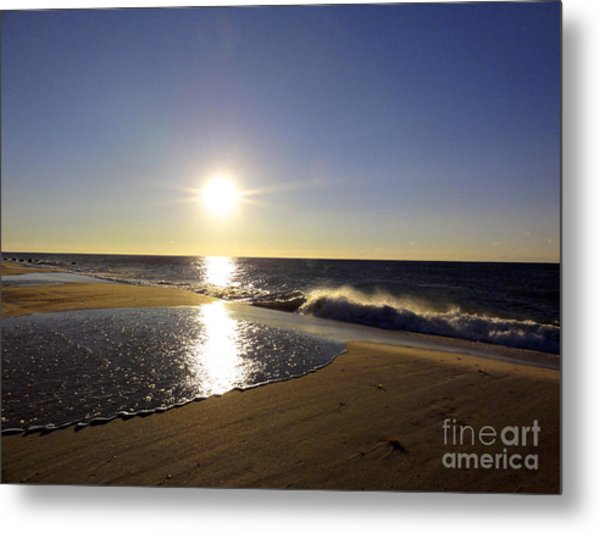 Fire Island Sunday Morning - 13 Metal Print