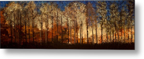 Fire On The Mountain Metal Print