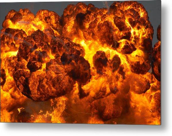 Fireball Metal Print by JohnnyPowell