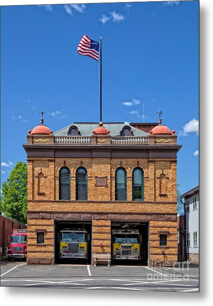 Firehouse Middletown Connecticut Metal Print