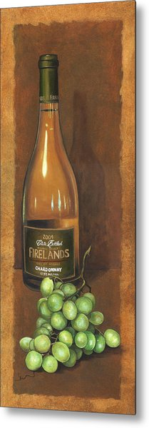 Firelands Chardonnay Metal Print by Terri  Meyer