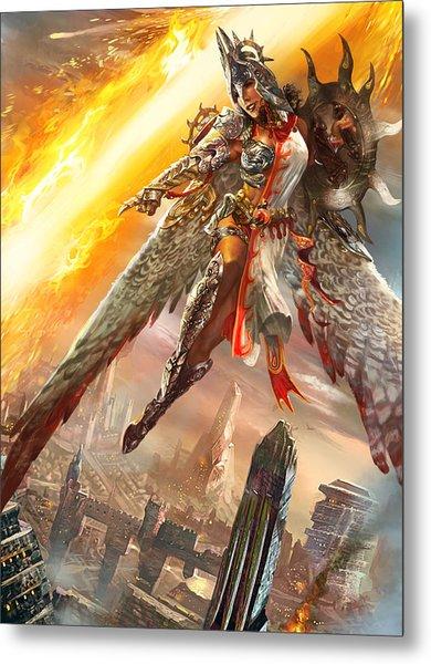 Firemane Avenger Promo Metal Print