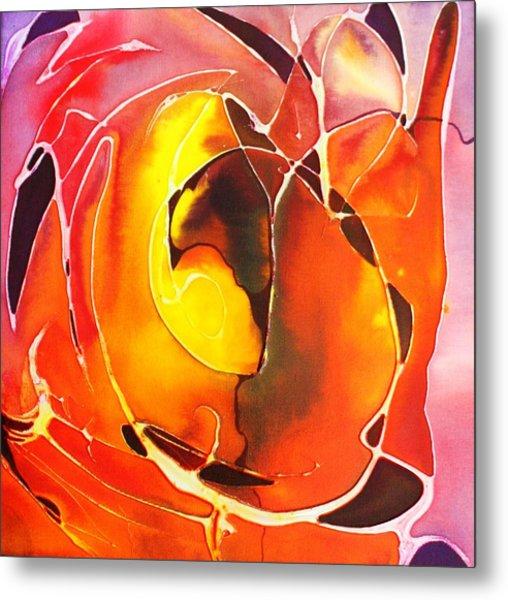 Firepot Metal Print
