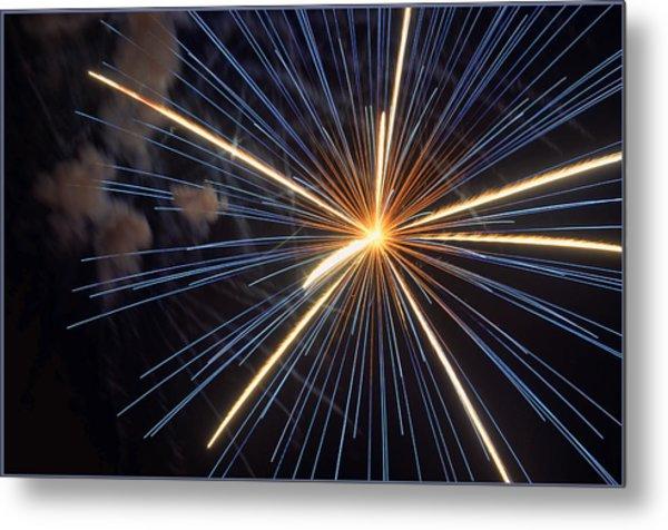 Firework 6 Metal Print