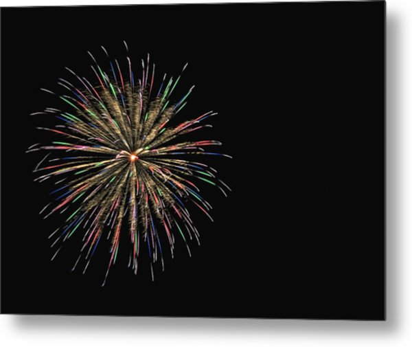 Fireworks 1 Metal Print