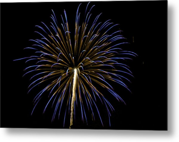 Fireworks Bursts Colors And Shapes 3 Metal Print