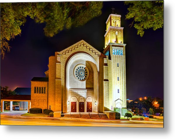 First Baptist Church Of Pensacola Metal Print