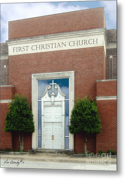 First Christian Church Metal Print