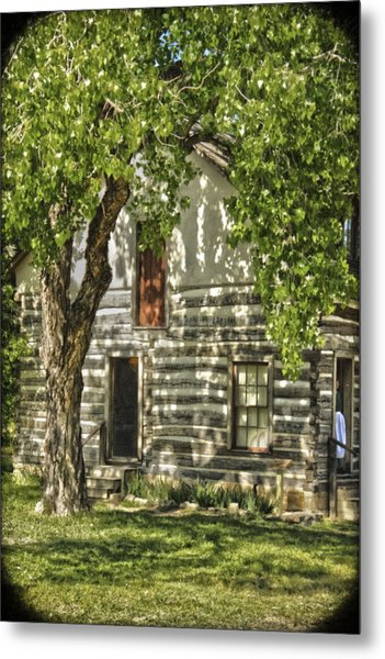 First House In Wichita Metal Print