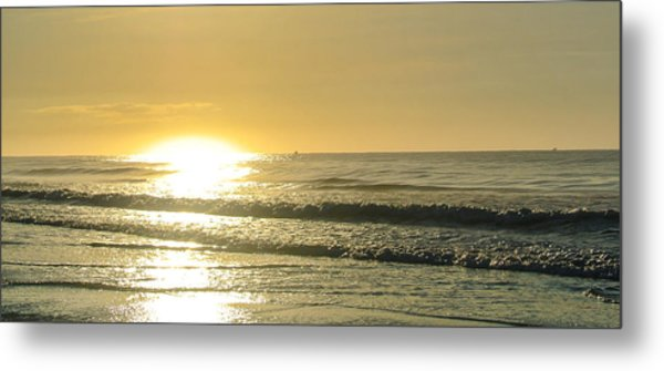 First Light Metal Print by Jason Heckman