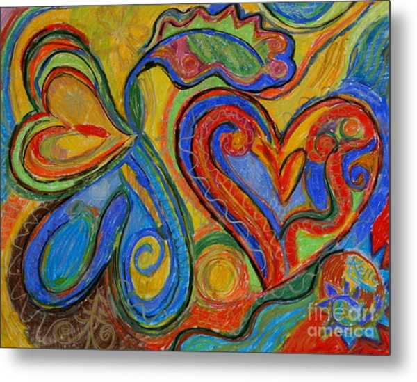 First Love Metal Print by Kelly Athena