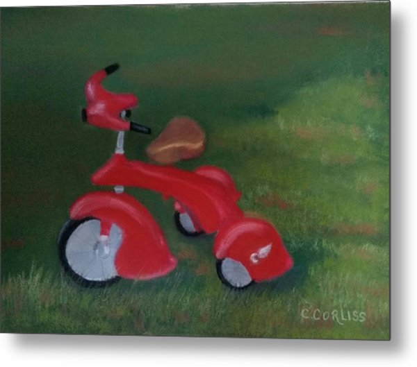 First Ride Metal Print