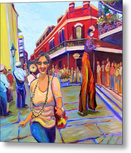 First Trip To New Orleans Metal Print