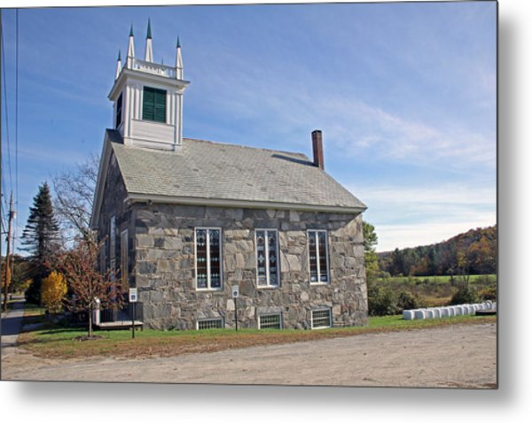 First Universalist Parish Metal Print