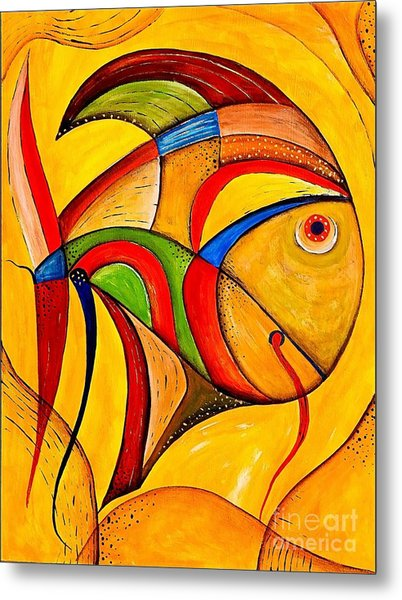 Fish 534-11-13 Marucii Metal Print
