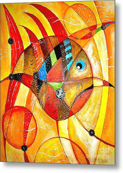 Fish 716-14 Marucii Metal Print