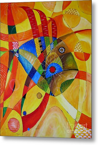 Fish 752 - Marucii Metal Print