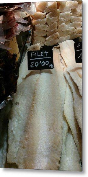 Fish Filets Metal Print