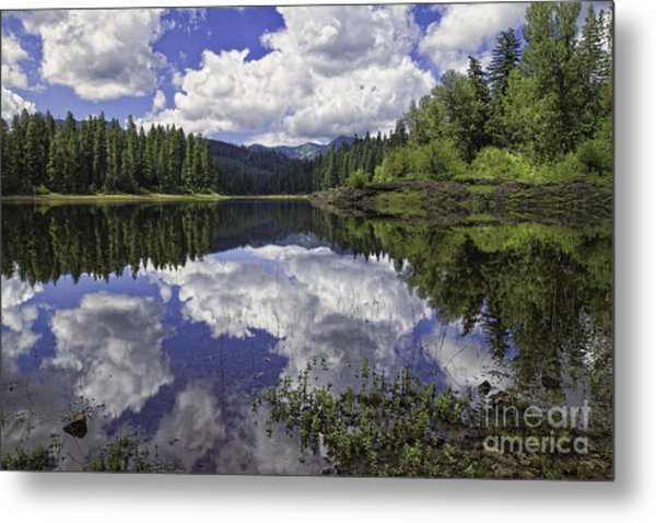 Fish Lake Metal Print