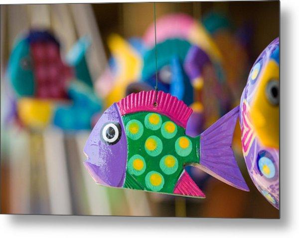 Fish Of Color Metal Print