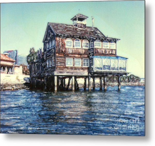 Fish Shanty Metal Print
