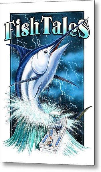 Fish Tales Metal Print