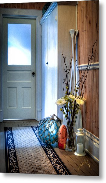 Fishermans Hallway Metal Print by Williams-Cairns Photography LLC