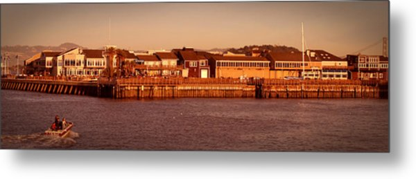 Fisherman's Wharf Metal Print