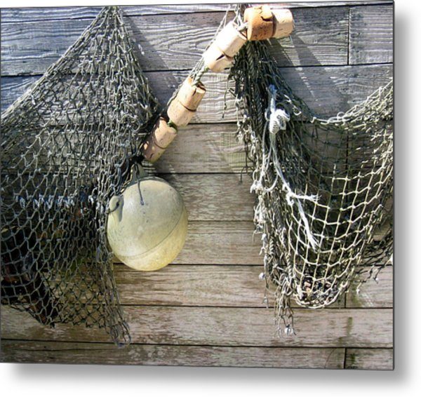 Fishing Nets Metal Print