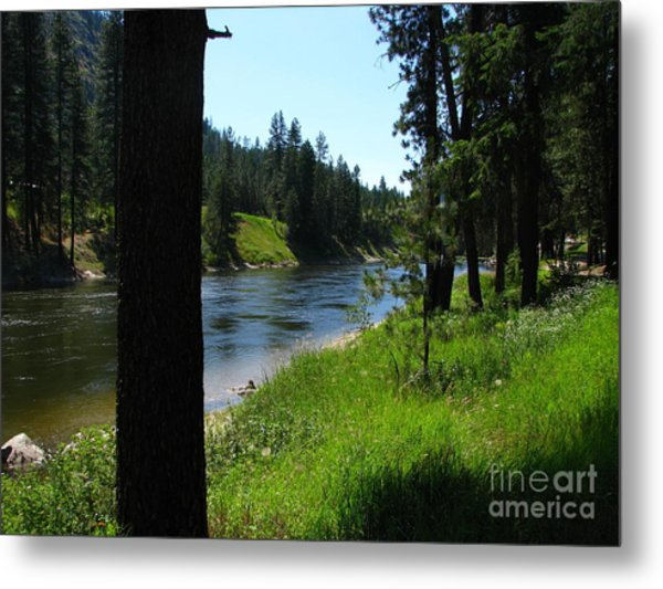 Fishing Spot 1 Metal Print by Greg Patzer