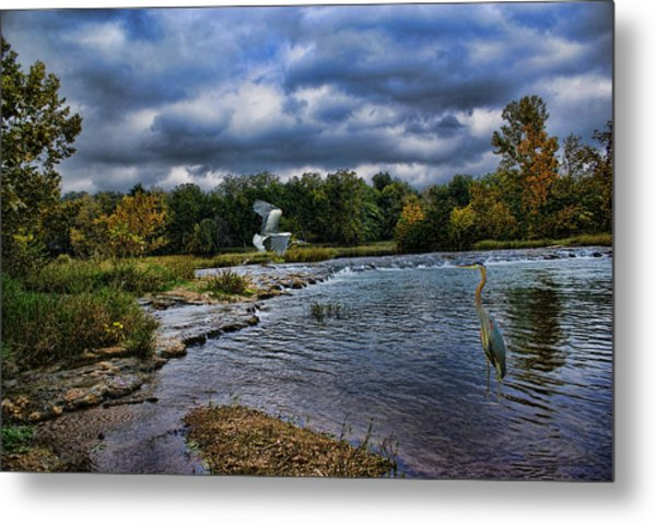 Fishing Spot Metal Print
