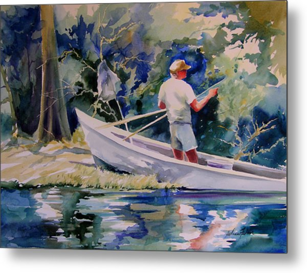 Fishing Spruce Creek Metal Print