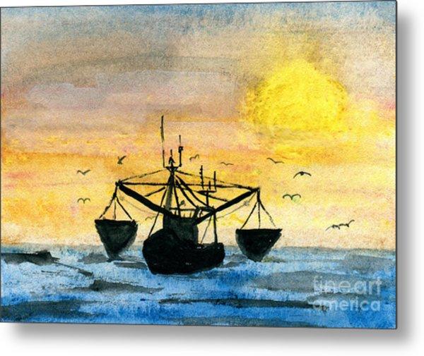 Fishing Tackle Metal Print by R Kyllo