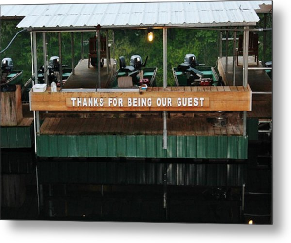 Fishing Trip Metal Print by Barbara Langdon