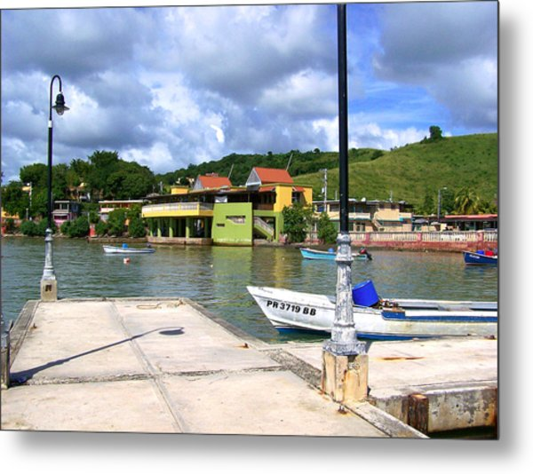 Fishing Village Puerto Rico Metal Print