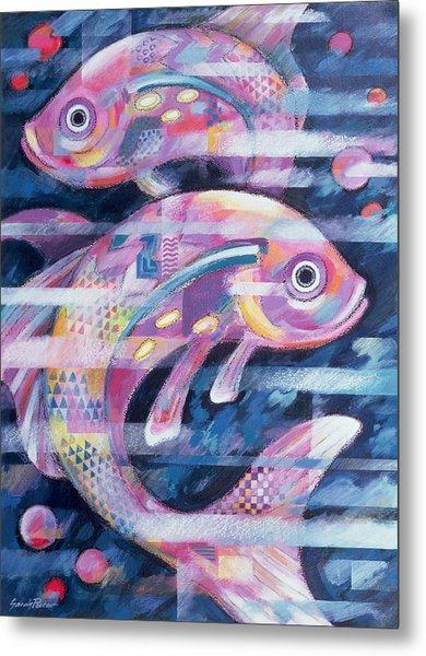 Fishstream Metal Print