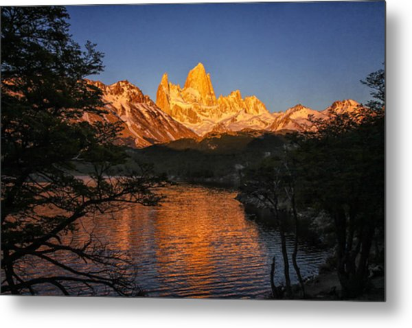 Fitz Roy Massif Metal Print