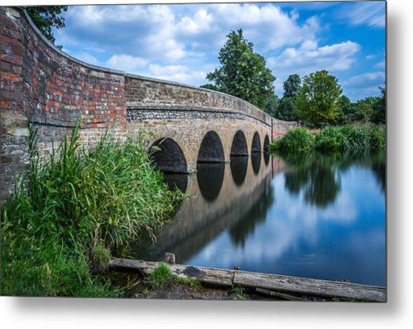 Five Arches Bridge. Metal Print
