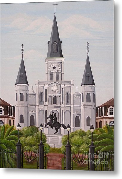 Five Fifteen In New Orleans Metal Print