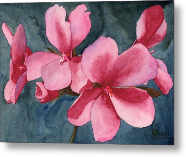 Metal Print featuring the painting Five by Ken Powers