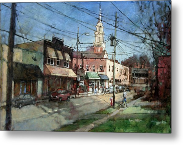 Five Points Evening Metal Print