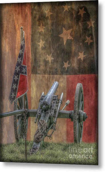 Flags Of The Confederacy Metal Print